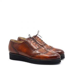 Pantofi Barbati piele naturala culoare maro